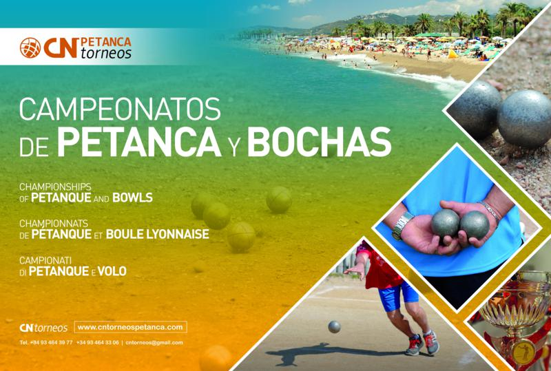 Opens de Petanca y Bochas 2018