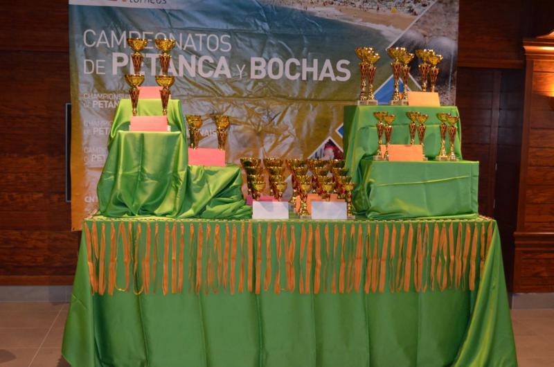 Cuadro de honor Open petanca y bochas Santa Susanna Cup 2016 (Octubre)