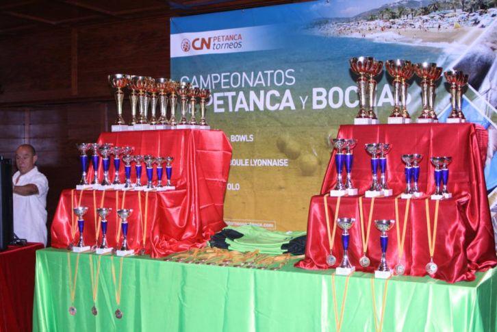 Cuadro de honor Open petanca y bochas Santa Susanna Cup 2017 (Octubre)