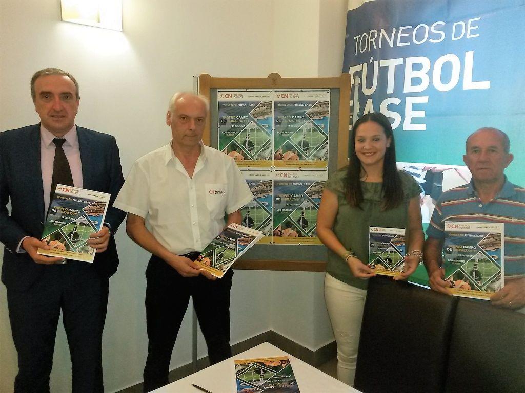 Los Barrios acoge este fin de semana el I Trofeo Campo de Gibraltar de fútbol base